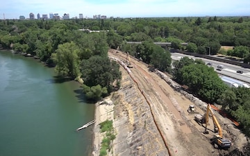 Sacramento River East Levee Improvements, Reach 8 and 9
