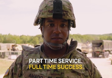 Army Reserve Life:  Firefighter & 92Y Supply Sergeant ( :08 sec)