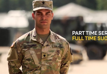Army Reserve Life:  Police Officer & 68W Combat Medic Specialist