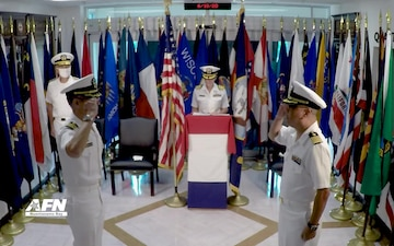 U.S. Naval Hospital Guantanamo Bay Holds Change of Command Ceremony
