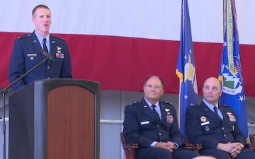 142nd Wing Commander, Col. Adam Sitler, retires