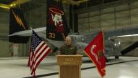 Marine Medium Tiltrotor Squadron 362 Change of Command Video Message