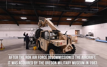 Time lapse of F-86 Sabre assembly at Oregon Military Museum - WITH TITLES