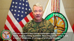USCENTCOM commander speaks about PTSD awareness