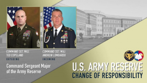 U.S. Army Reserve Change of Responsibility (Virtual Ceremony)