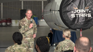 U.S. Air Force Chief of Staff visits Team JSTARS
