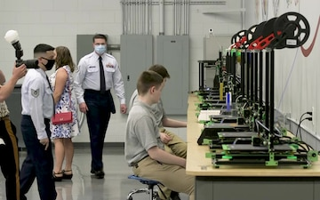 1st SOW Commander Attends Ribbon Cutting Ceremony for Local Educational Foundation