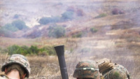 AITB Marines fire 81 mm mortars during IULC