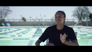 The First Female Scout Swimmer