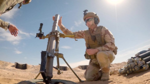 Coalition M224 60mm Mortar Live Fire