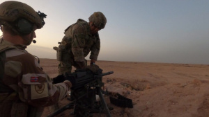 Coalition members conduct Mark 19 live-fire exercise