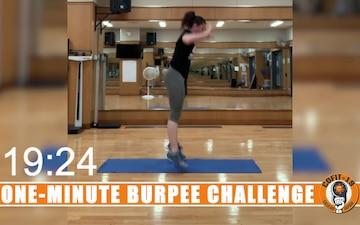 One Minute Burpee Challenge