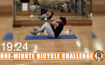 One Minute Bicycle Challenge