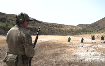 Task Force Guardian soldiers engage in shotgun-focused range day