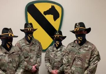 The 1st Cavalry Division Band wishes the First Team a Happy Independence Day!