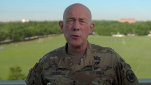 Army Reserve commanding general bids final farewell to the troops
