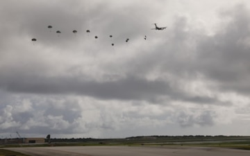 4-25 Airborne Brigade B-Roll at Guam