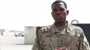 Master Sgt. Asher Wright Shout Out