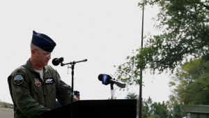 325th Fighter Wing Change of Command
