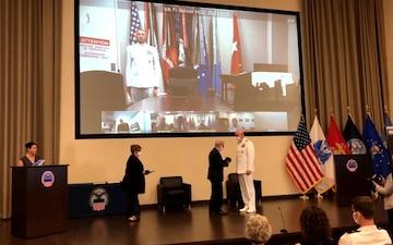 Jones relinquishes command via virtual ceremony at DLA Distribution Headquarters