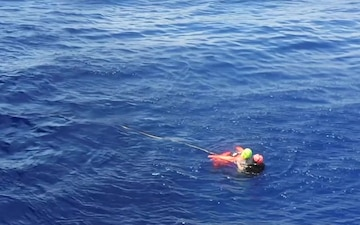 Princeton conducts Man overboard training