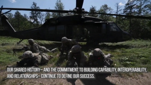 Michigan National Guard Celebrates Independence and Remembers Partnership with Latvian Armed Forces