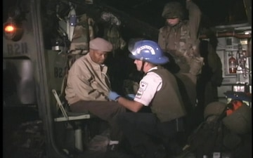 USMC HURRICANE FLOYD RELIEF AND RESCUE OPERATIONS