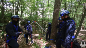 USAFE and 86th CES Firefighters take on Advanced Rescue Training during COVID-19