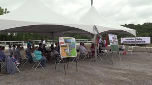 Berm construction completes Center Hill Dam Safety Rehabilitation Project
