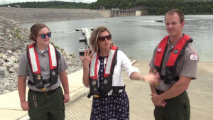 Representative asks visitors to stay safe at Corps Lakes