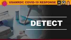 USAMRDC Leading COVID-19 Research Efforts