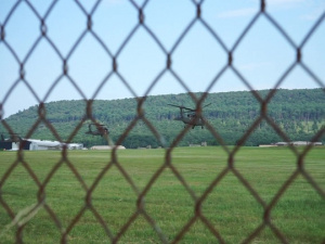 Soldiers from the 28th Expeditionary Combat Aviation Brigade depart for deployment