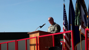 Soldiers from 1st SBCT Main body three arrives in Fairbanks