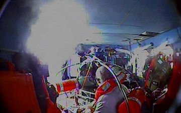 Coast Guard medevacs man suffering from leg laceration 34 miles off Oregon Inlet, North Carolina