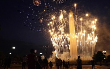 Washington D.C. Independence Day Fireworks Show