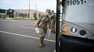 1-150th Assault Helicopter Battalion departs for training