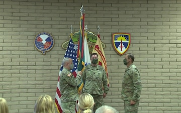 B-roll from U.S. Army Yuma Proving Ground Change of Command Ceremony