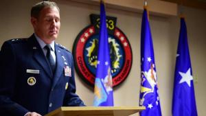 36th Wing Change of Command Lt. Gen. David Krumm remarks