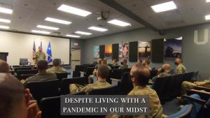 CSAF Goldfein speaks on Hunter Airmen role