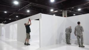 Georgia National Guardsmen learn GEMA's new alternate care facility for domestic operations