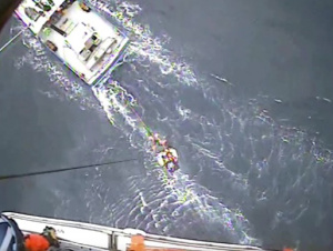 Coast Guard medevacs injured fisherman 100 miles off Coos Bay, OR