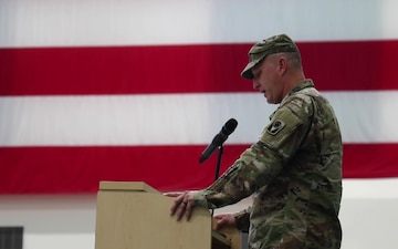 53rd IBCT Change of Command Ceremony