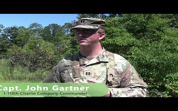 South Carolina National Guard Infantry Battalion conducts STX lanes
