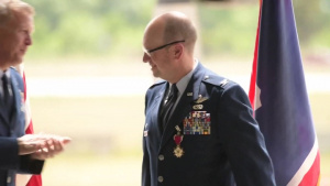 153d Airlift Wing Change of Command
