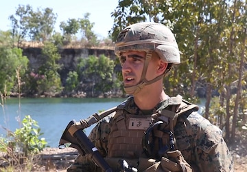 Marine discusses providing life support in austere environments