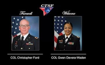 CTSF Change of Command