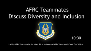 Air Force Reserve Command Diversity_Inclusion Discussion