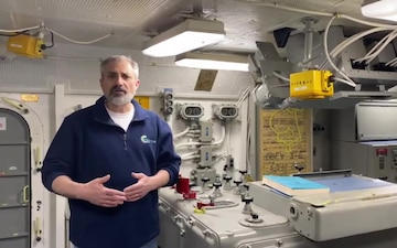 Battleship Wisconsin Virtual Tour for Navy Week Madison 2020