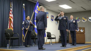 616th ACOMS Change of Command 2020