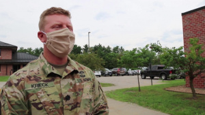 Interview with 432nd Civil Affairs Battalion Commander as his unit preps for overseas